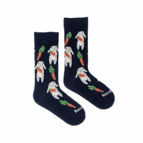 FUSAKLE ponožky detské Zajac