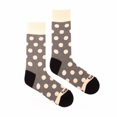 FUSAKLE ponožky Chameleón albín