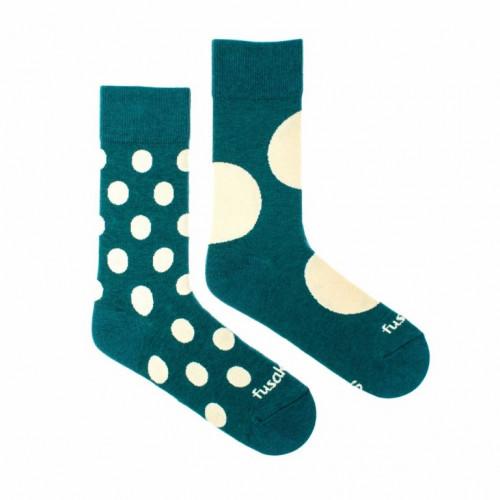 FUSAKLE ponožky Diskoš zelenáč
