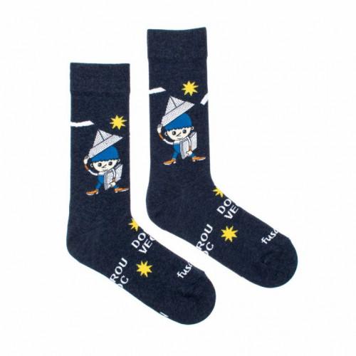 FUSAKLE ponožky detské Deduško Večerníček