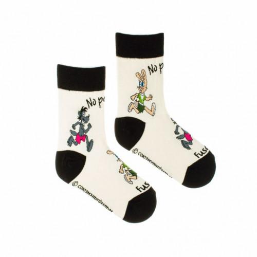 FUSAKLE ponožky detské No počkaj Chyť ma