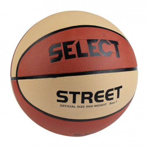 Select Basketball Street bežovo oranžová