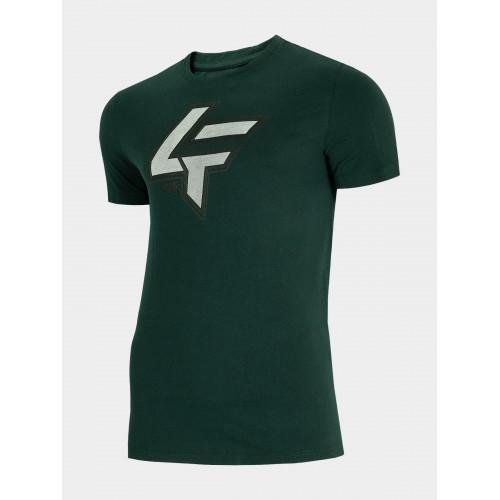 4F Tričko pánske TSN010 Zelená