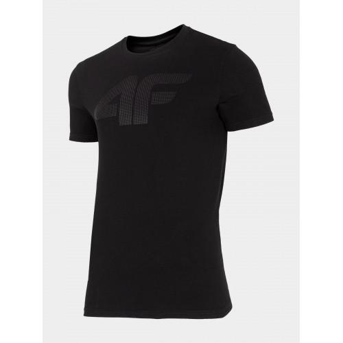 4F Tričko pánske TSM300 21S Čierna