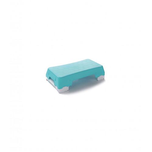 Sveltus aerobický schodík Ecostep modrý + 2 risers